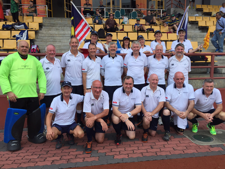 Scotland Grand Masters and WAGs in Kuala Lumpur in Pacific Rim Tournament 2015