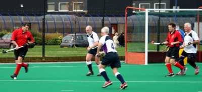 Wales attack at Wrexham in 2008, putting Scotland on the back foot
